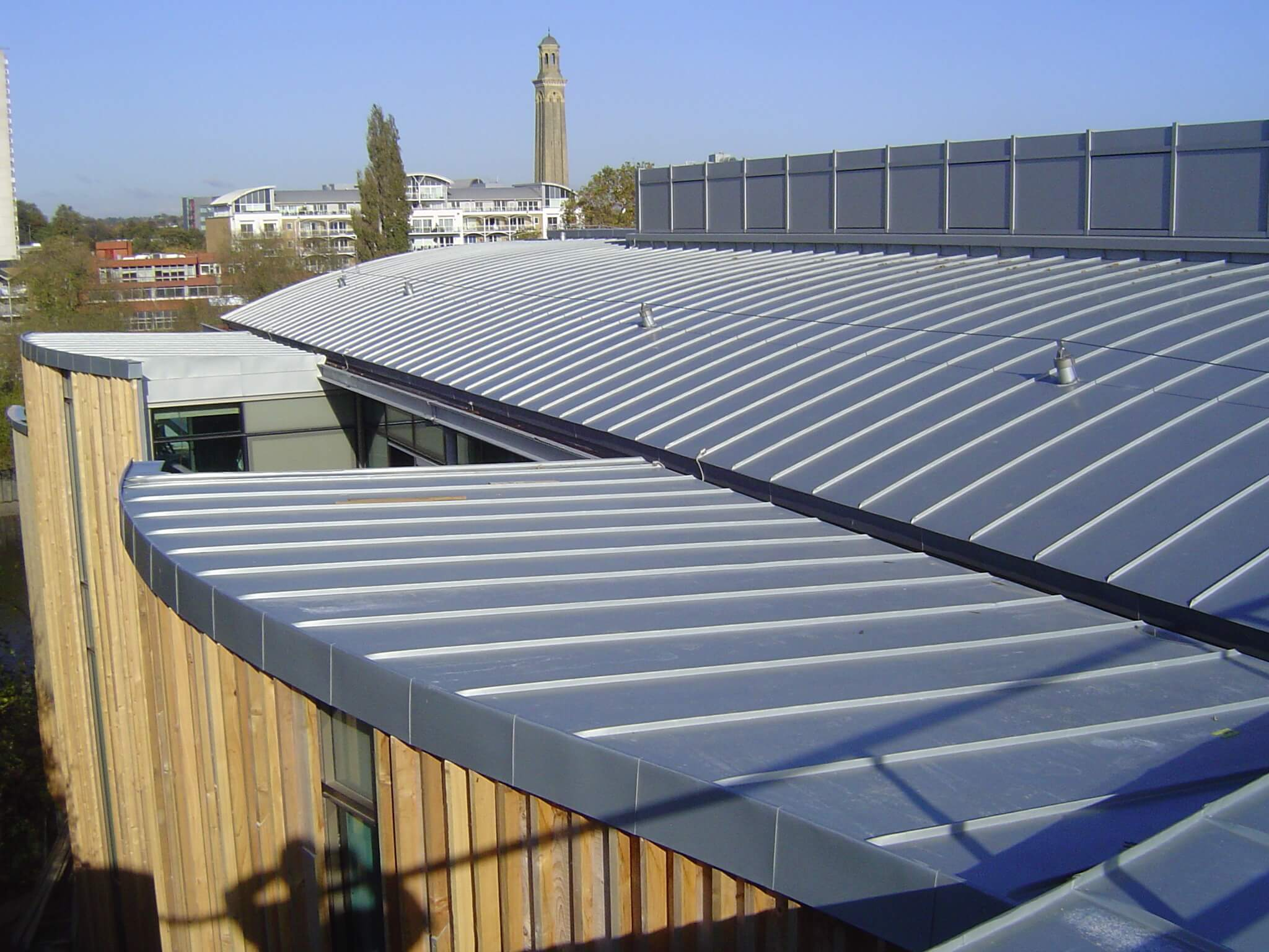 Roof after Nico roofing contractors work